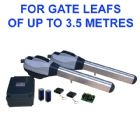GiBiDi MEKA BL230 DOUBLE Arm Electric Gate Kit